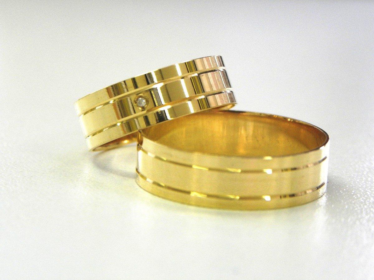 Alianças de ouro - 30 fotos, onde comprar e quanto custa ff27aa9261