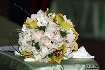 Buquê de casamento de orquídeas