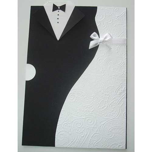 convite de casamento modernos e chiques 9