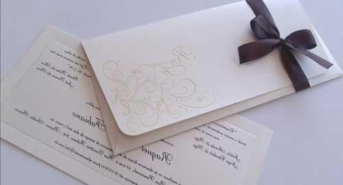 convite de casamento modernos e chiques 13