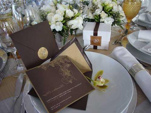 convite de casamento modernos e chiques 4