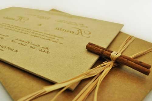 convite de casamento modernos e chiques 1