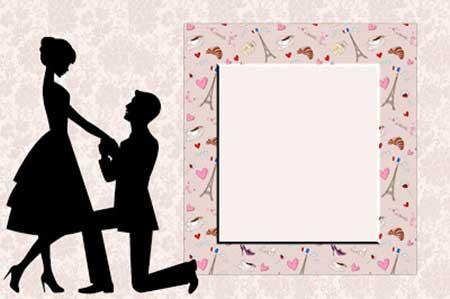 convite de casamento simples e barato 5