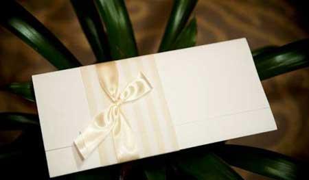 convite de casamento simples e barato 1