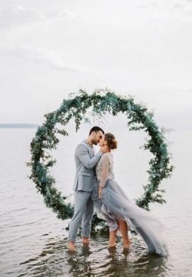 Enfeite de Guirlanda para Casamento na praia