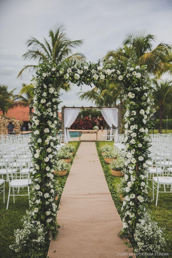 Decoração para Casamentos ao ar livre