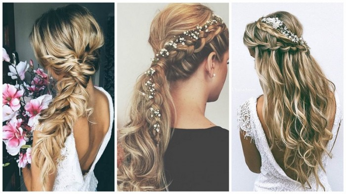 50 Dreamy Wedding Hairstyles For Long Hair: 50 Penteados De Noivas, Madrinhas