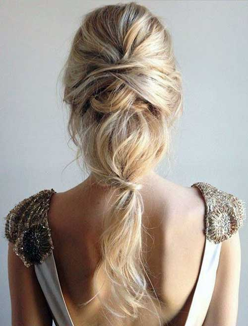 penteado bagunçado para o ar livre