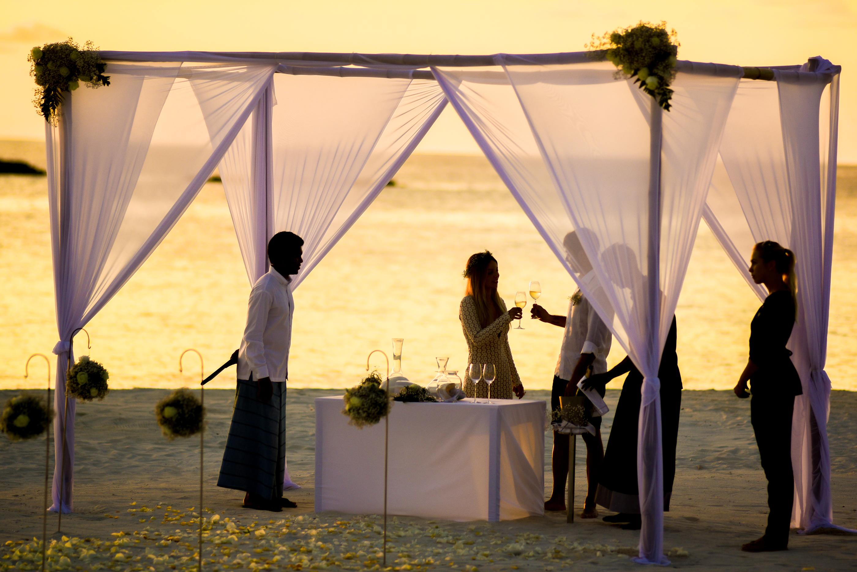 tenda para casamento na praia 2