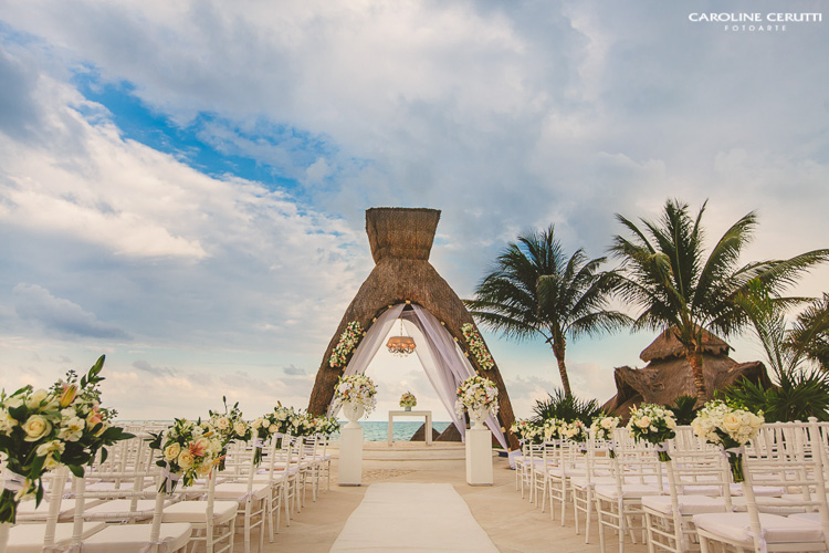 tenda para casamento na praia