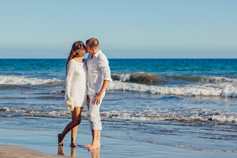 vestido curtos para casamento na praia 2