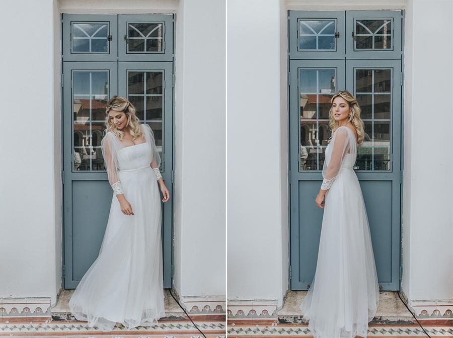 vestido comprido para casamento