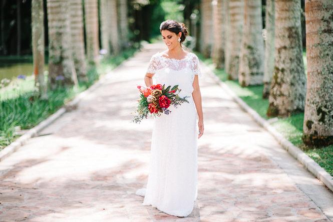 vestidos de noiva compridos