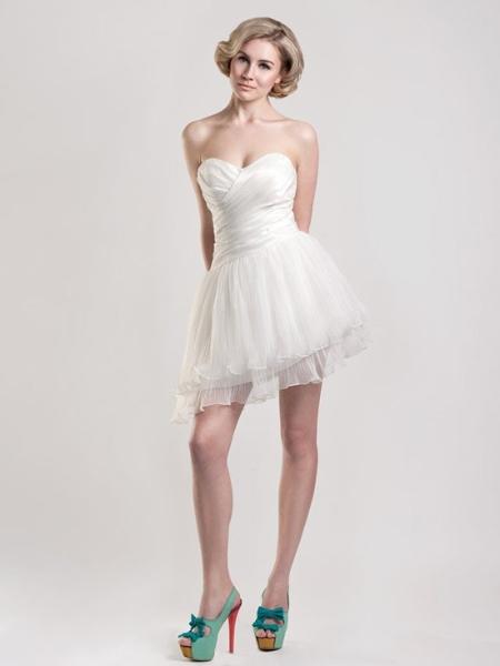 vestido de casamento curtos 9