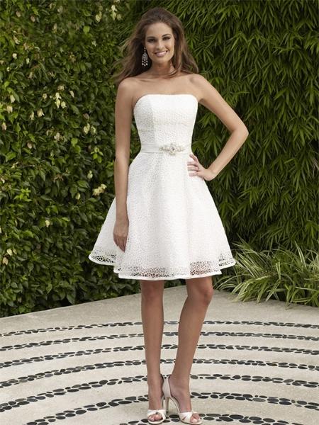 vestido de casamento curtos 1