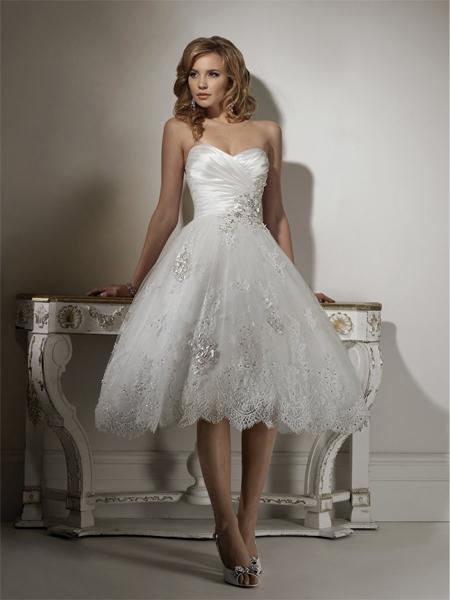 vestido de casamento curtos 15