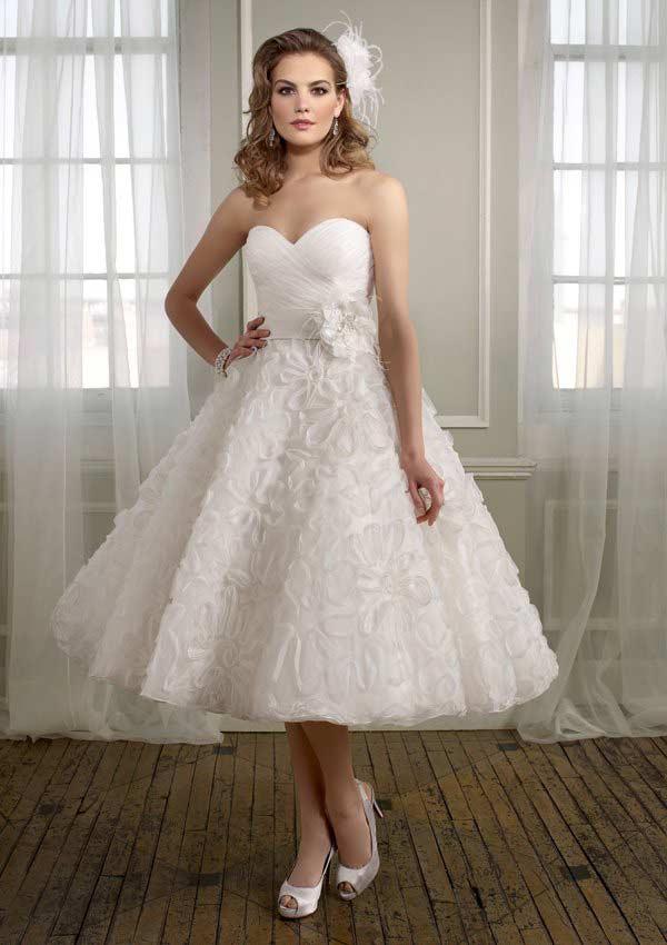 vestido de casamento curtos 16
