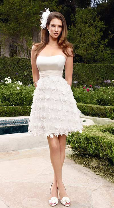 vestido de casamento curtos 22