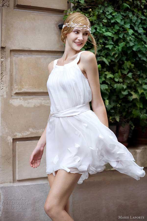 Vestido de casamento curto