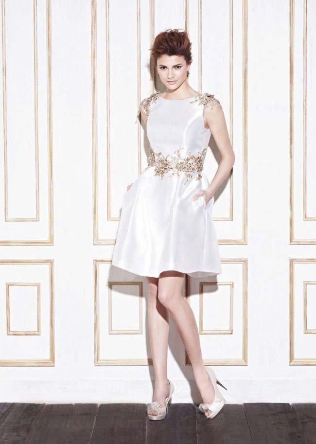 vestido de casamento curtos 30