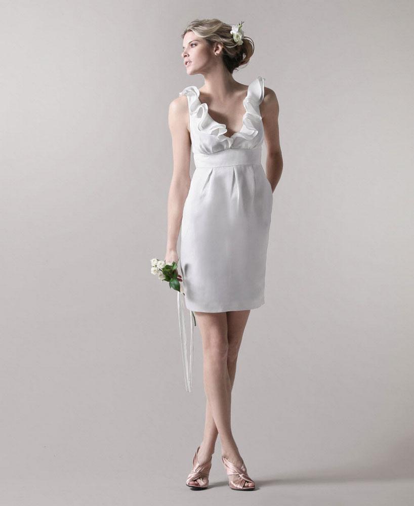 vestido de casamento curtos 39