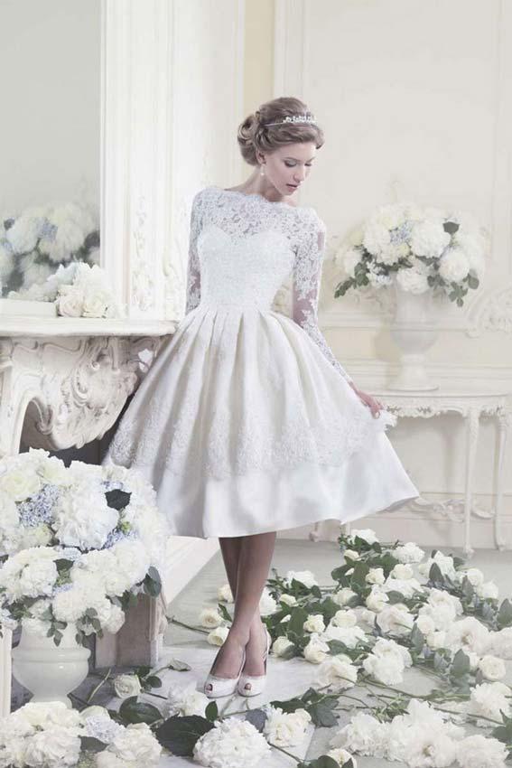 vestido de casamento curtos 38