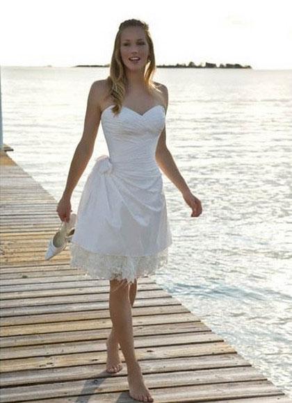 vestido curtos para casamento na praia 3