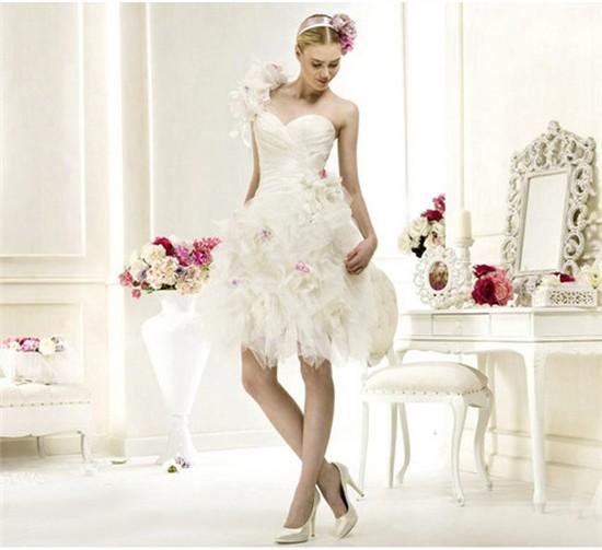 vestido de casamento curtos 36