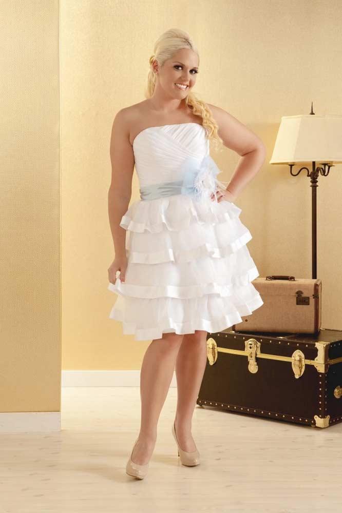 vestido de casamento curtos 41