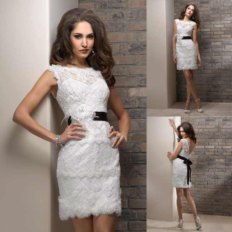 vestido de casamento curtos 42
