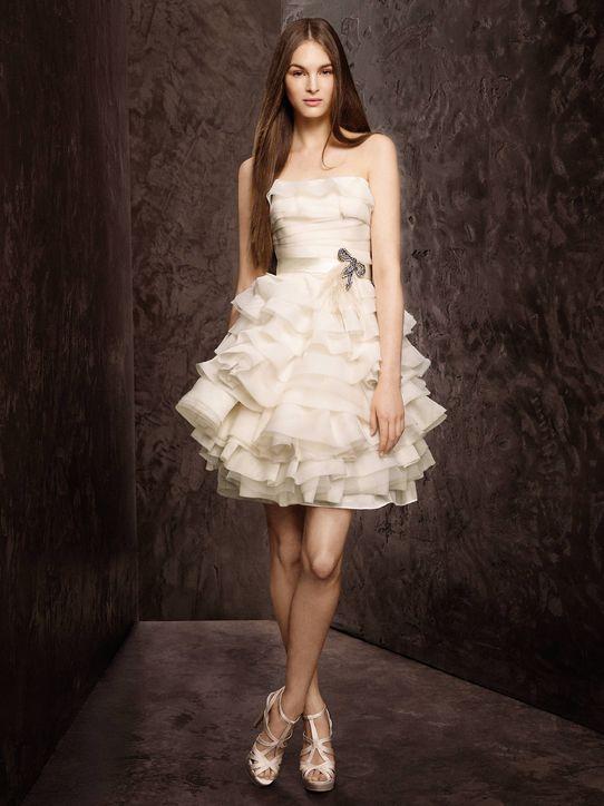 vestido de casamento curtos 46