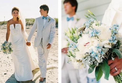 Buquê para Casamentos na praia