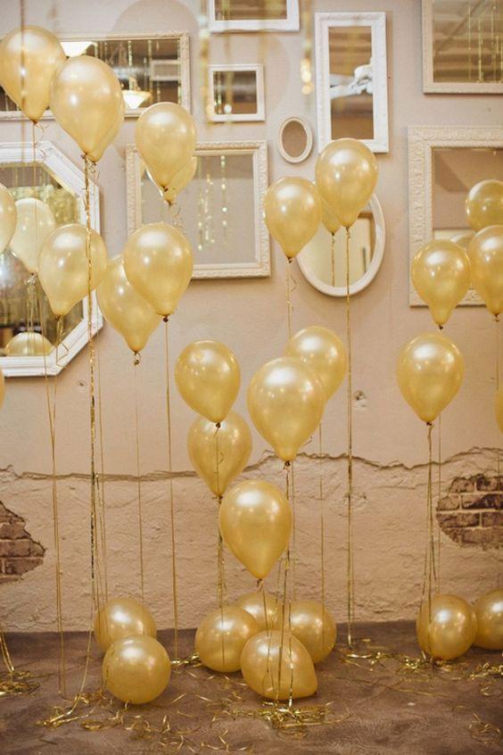 Balões de decoração