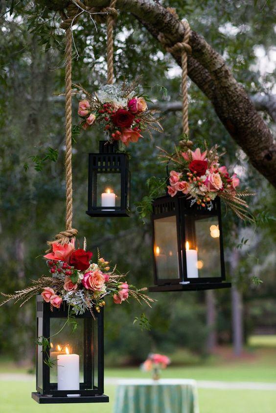 velas como decoração