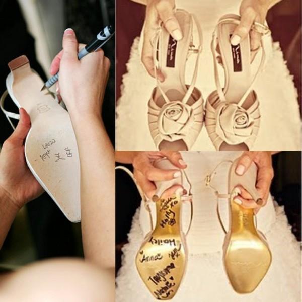 personalização dos sapatos