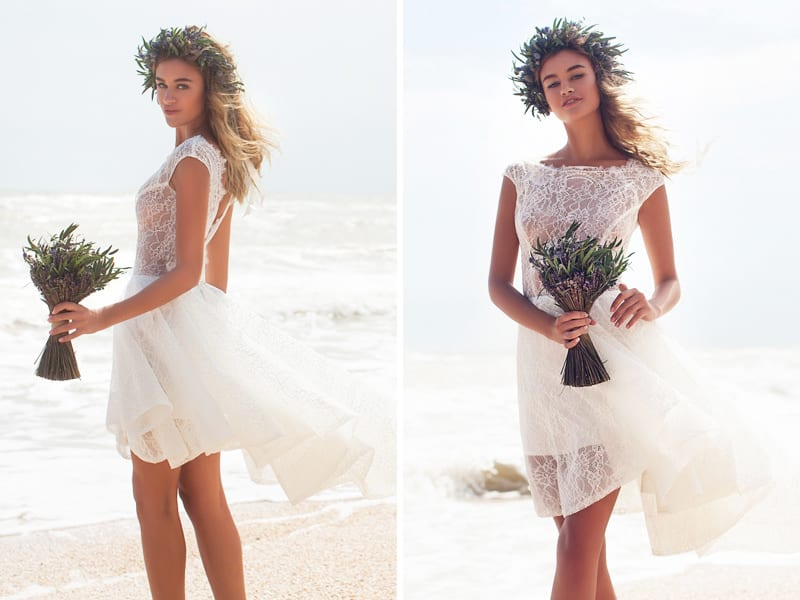 Vestido de noiva para casamentos na praia