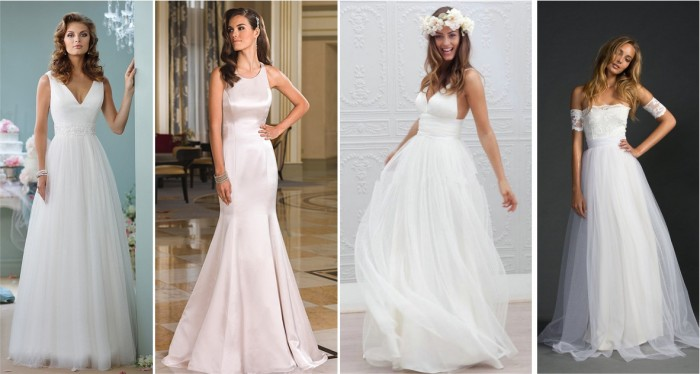Vestidos de noiva lindos simples e baratos