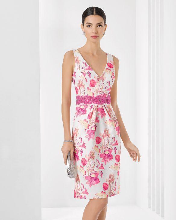 vestido com rosas