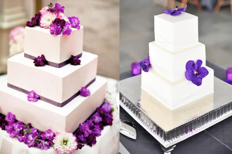 Enfeites de flores em seu bolo fica lindo