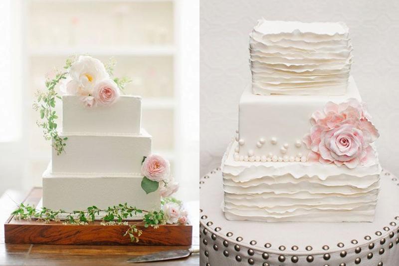 você pode optar por bolos com textura ou sem