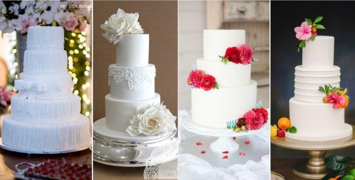 Modelos de bolos simples para você se inspirar