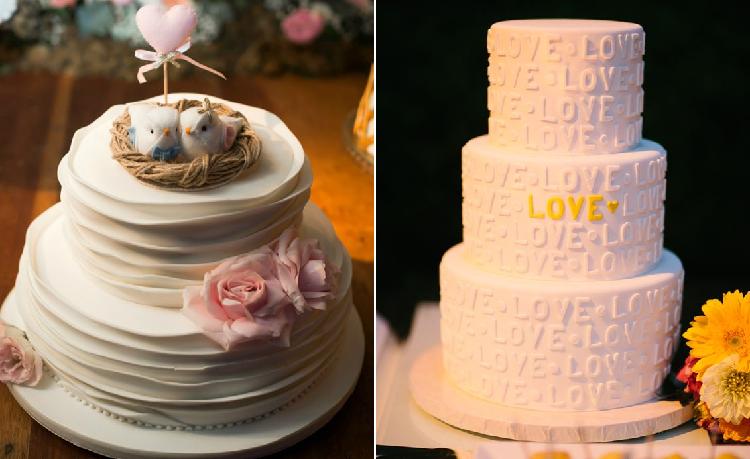 Dois bolos com ideias bem criativas