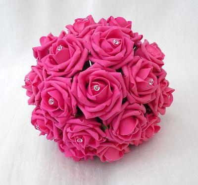 Buquês de rosas pink