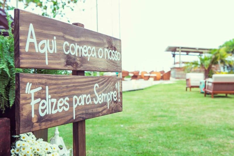 Linda frase para enfeitar seu Casamento