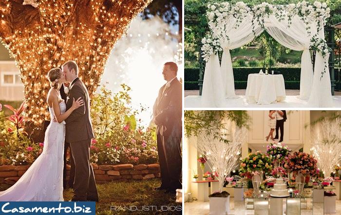 Uma decoração bem feita faz toda a diferença, desde uma decoração simples ou até mesmo uma decoração moderna, são indispensáveis em um Casamento