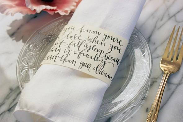 Faça simples Porta guardanapo de papel com frases