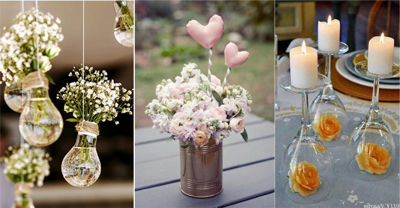 Ideias criativas para decorar sua mesa com arranjos