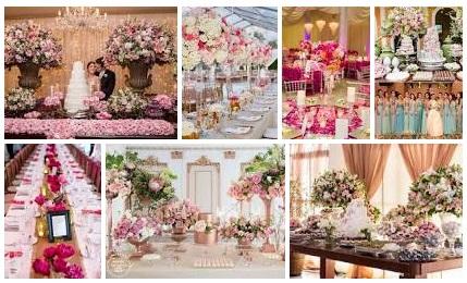 O rosa vai deixar seu Casamento bem mais delicado e romântico