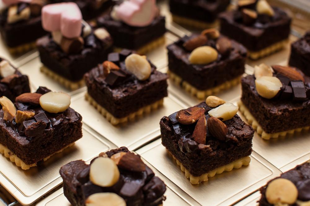 Exemplo de doces finos, Mini brownies