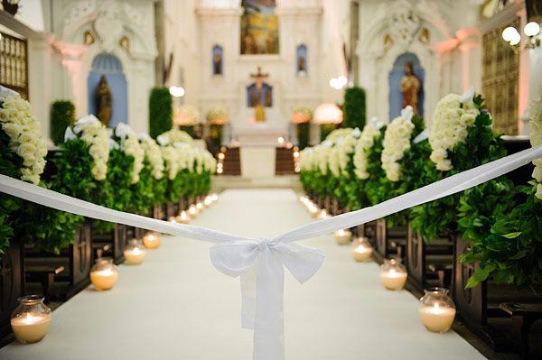 Com apenas uns detalhes sua decoração na igreja fica incrível